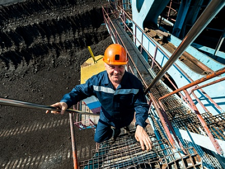 Employee of Borodinsky open pit